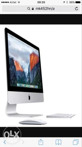 Apple iMac 21.5 inch Retina 4k/Quad Core