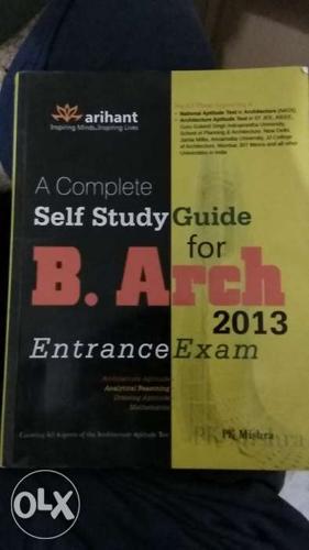Arihant B.Arch Entrance Examination JEE Book for