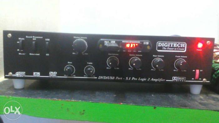 Assembled 5,1 with amplifier powerful amplifier for Sale in