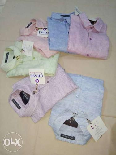 Assorted Chase Dress Shirts