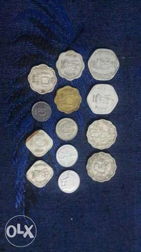 Assorted Coins Collection