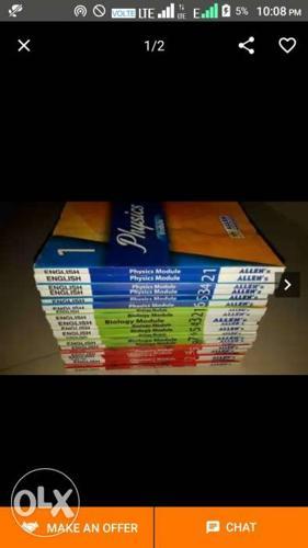 Assorted Title Textbook Lot Screenshot