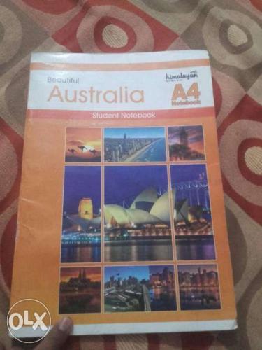 Australia A4 Book