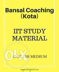 Bansal/Career point iit (2016-17) books &&& sets you up