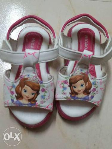 Barbie sandals for 1 yr old baby