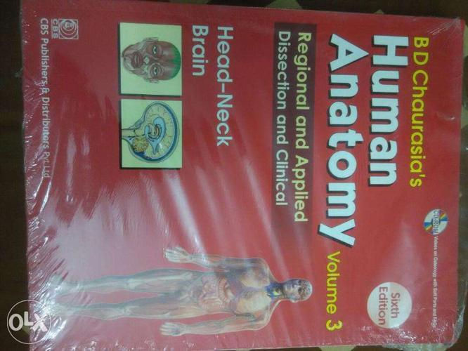Bd Chaurasias Human Anatomy Regional Vol 3 For Sale In Bangalore