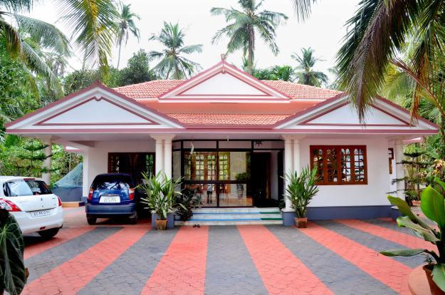 Beautiful 3 bedroom 3 bath house for sale in thalassery House three bedroom