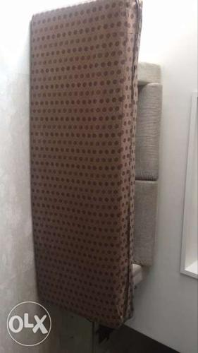 Beige And Brown Dotted Mattress