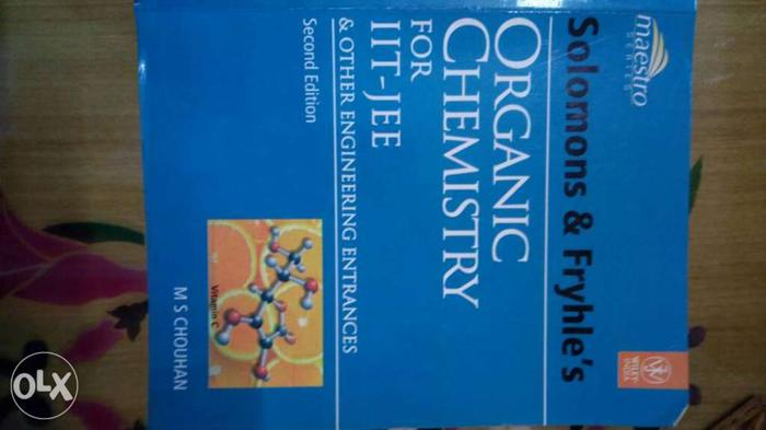 Bestselling book for organic chemistry