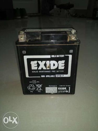 Bike Battery Exide ETZ 7 Original for Honda CBR