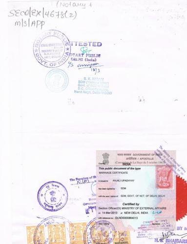 Birth Certificate Apostille in Surat Degree & Marriage also in Surat
