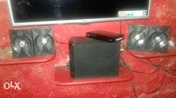Black 5.1 Speaker