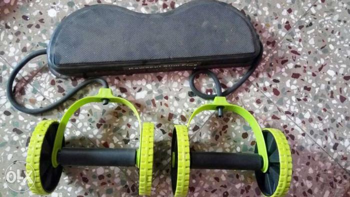Black And Green Mini Stepper