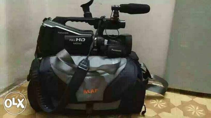 Black And Grey Alaf Bag