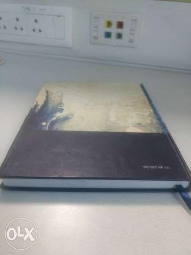 Black And White Hardbound Book