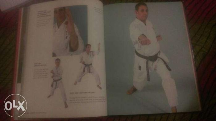 Black Belt karate a book by chris Thompson is one