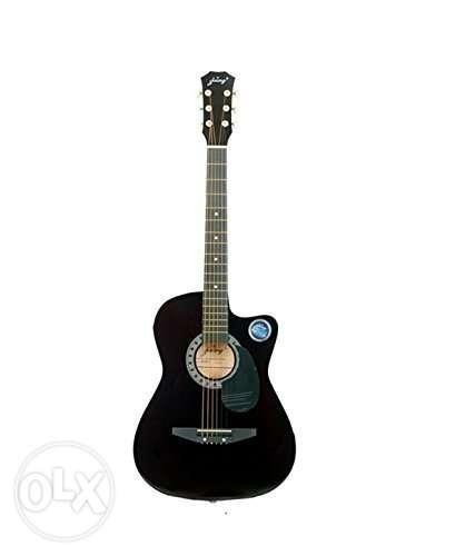 Black Cut-away Acoustic Guitar