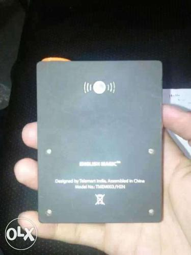 Black English Magic Device new condition