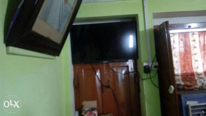 Black Flat-screen TV