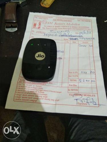 Black Jio Device