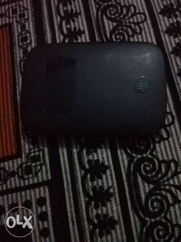 Black Jio Pocket Wifi jio fi3