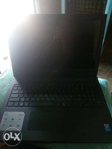 Black leptop