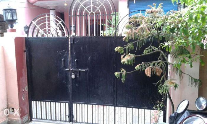 Black pure iron Gate