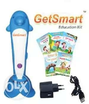 Blue And White Get Smart Education Kit