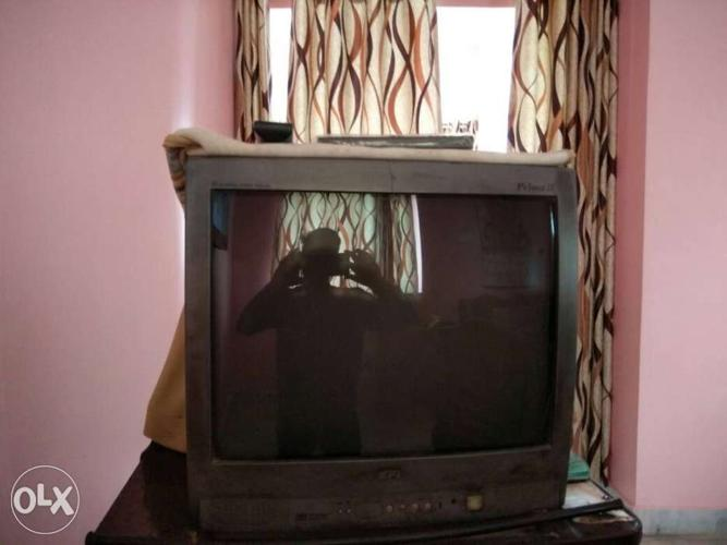 Bpl colour tv in good condition but it has some sound