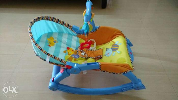 Cool Brand New Baby Rocker And Chair With Vibration For Sale In Dailytribune Chair Design For Home Dailytribuneorg