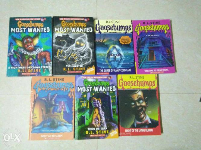 Brand new books for Goosebumps book lovers at a
