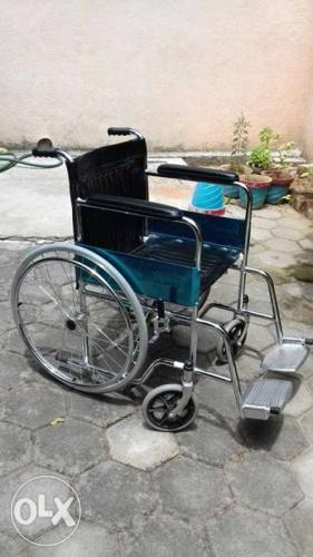 Brand new patient wheel chair, bought in jun 2016