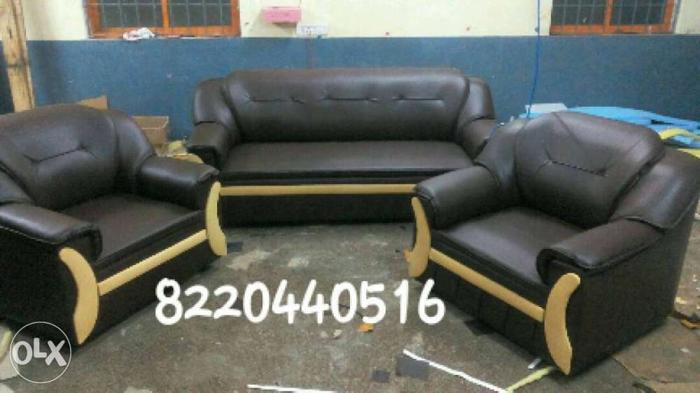 Brand New Rexin Sofa Set Offer Price For Sale In Chennai Tamil Nadu