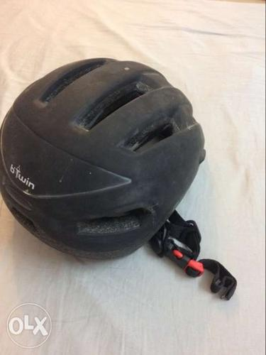 Btwin bicycle helmet , good condition , no damage