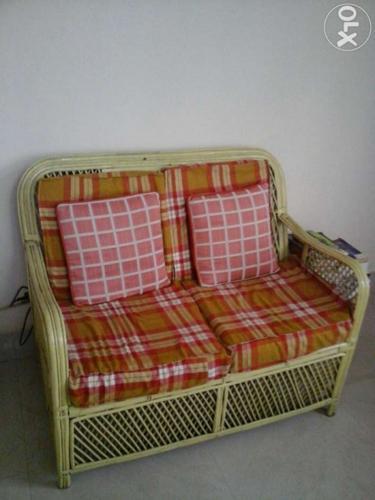 Brilliant Cane Sofa Set Without Centre Table For Sale In Jalukbari Lac Inzonedesignstudio Interior Chair Design Inzonedesignstudiocom