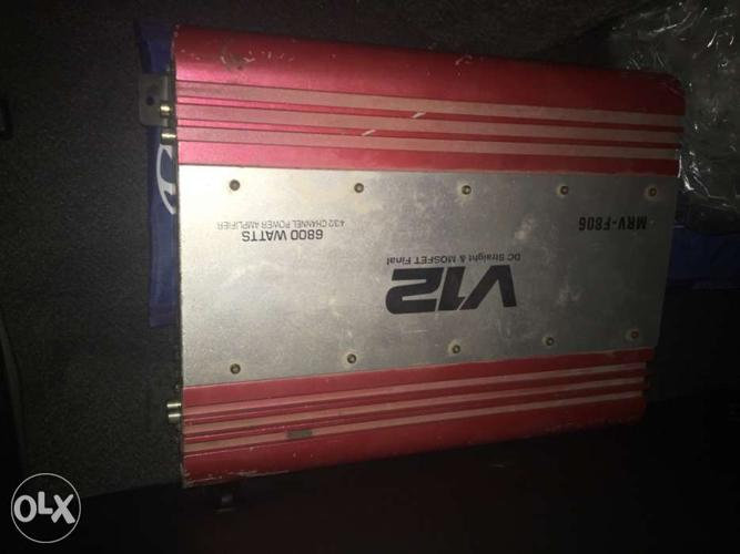 Car amplifier In a very good condition Available