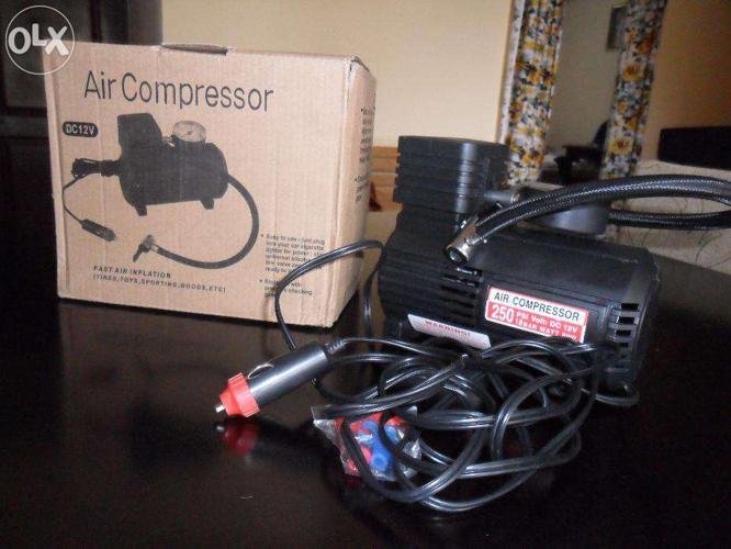 Car Maintenance-Air Compressor & Vaccum Cleaner