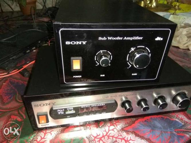 Car sub amplifier available for Sale in Kollam, Kerala