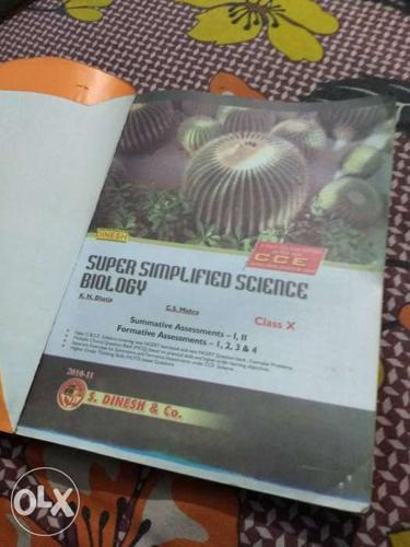 CBSE class 10th Dinesh Biology book