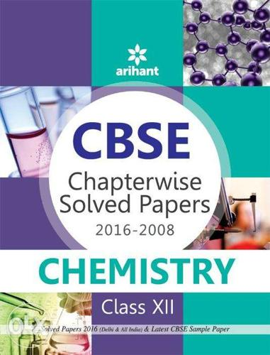 Chapter wisesolved papers arihant books of class12