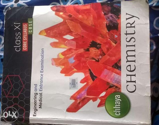 Chemistry book and Physics book - Class 11 Chhaya Prakashani
