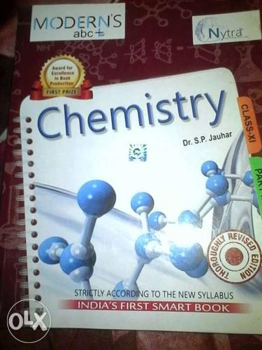 Chemistry book (modern's- abc) class 11 1st and for Sale in