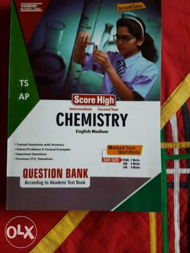 Chemistry Score High Question Bank According To Akademi