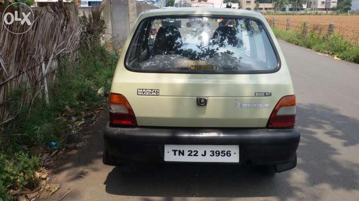 Chennai Reg 1999 Model Maruti 800 For Sale For Sale In Coimbatore