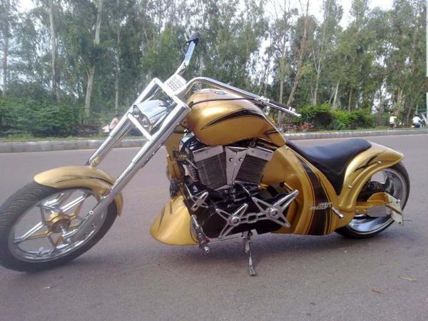 Chopper Bike Modification-Royal Enfield Bullet Bike