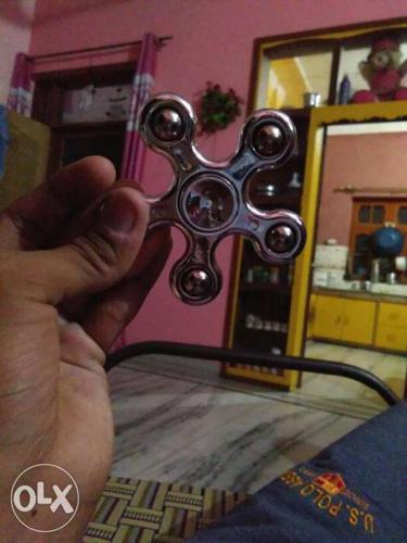 Chrome 5-axis Hand Spinner
