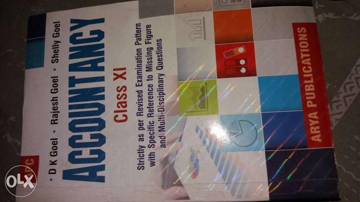 Dk Goel Accounts Book Class 11