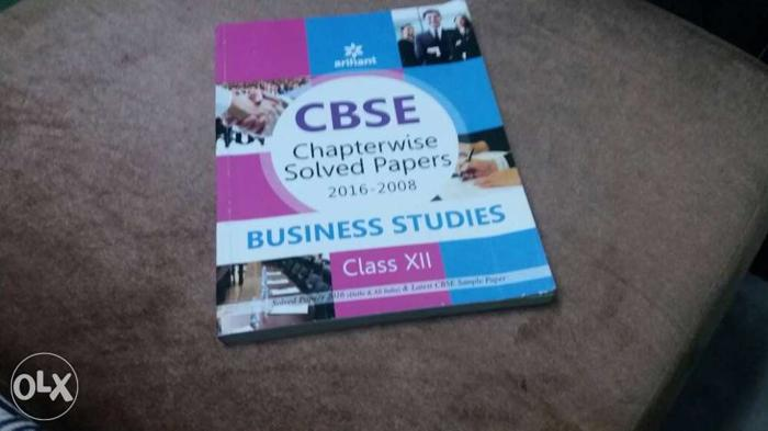 Class 12 Business studies Arihant Sample paper for Sale in Kurnool