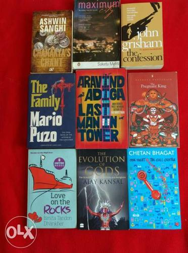 Collection of interesting books.. many are new