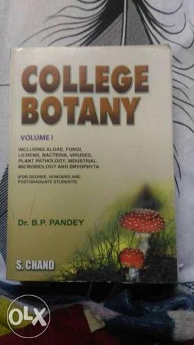 College Botany Volume 1 By Dr. BP Pandey